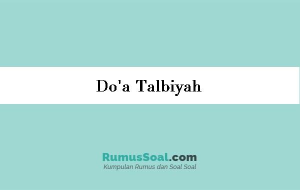 Doa-Talbiyah