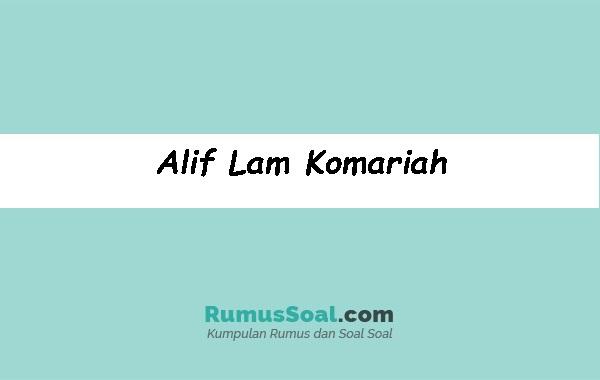 Alif-Lam-Komariah
