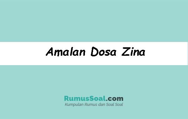 Amalan-Dosa-Zina