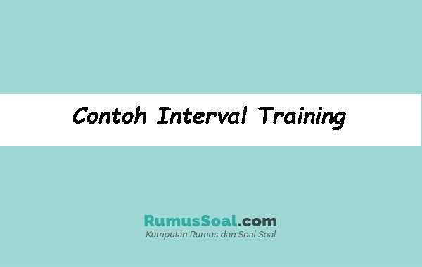 Contoh-Interval-Training