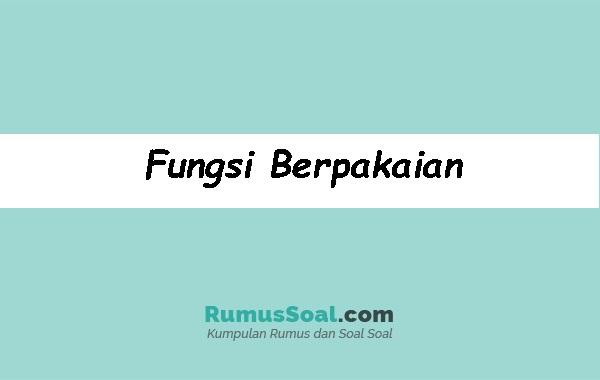Fungsi-Berpakaian