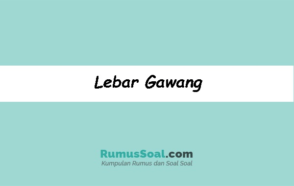 Lebar-Gawang