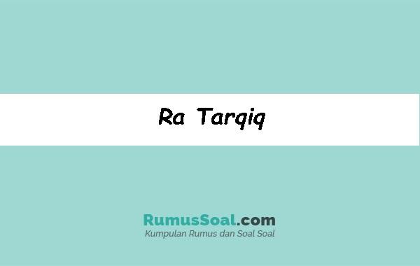 Ra-Tarqiq