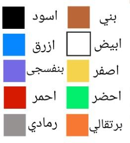 Warna-Bahasa-Arab