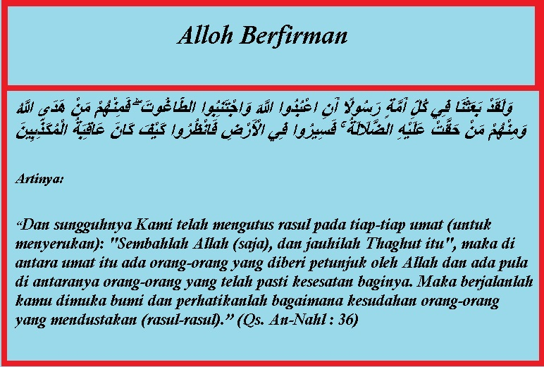Alloh-Berfirman