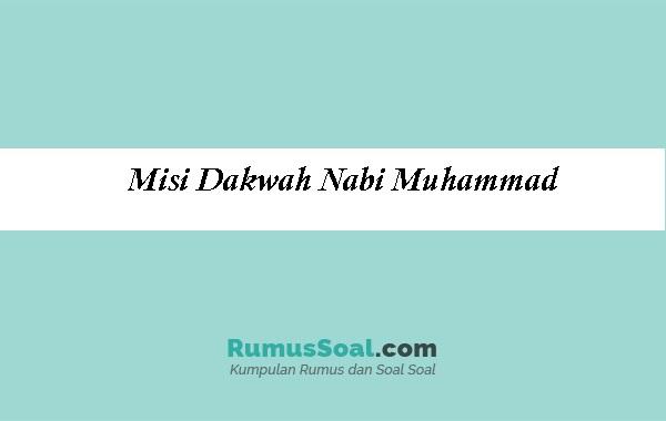 Misi-Dakwah-Nabi-Muhammad