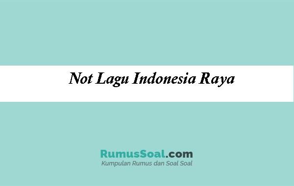 Not-Lagu-Indonesia-Raya