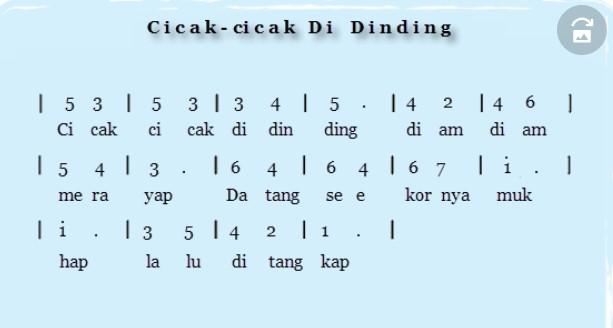 Not-cicak-cicak-didinding