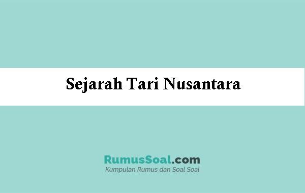 Sejarah-Tari-Nusantara