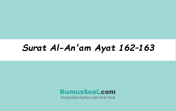 Surat-Al-Anam-Ayat-162–163