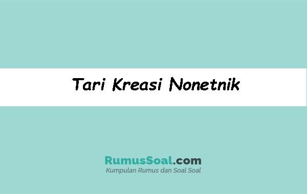 Tari-Kreasi-Nonetnik