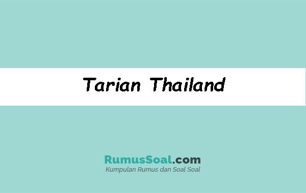 Tarian-Thailand