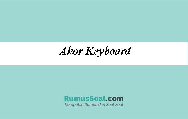 Akor-Keyboard