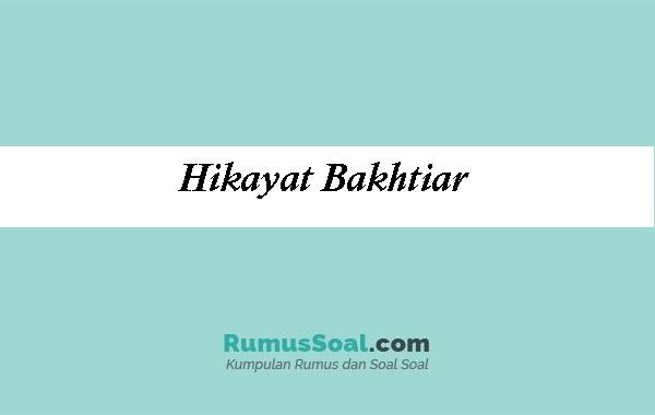 Hikayat-Bakhtiar