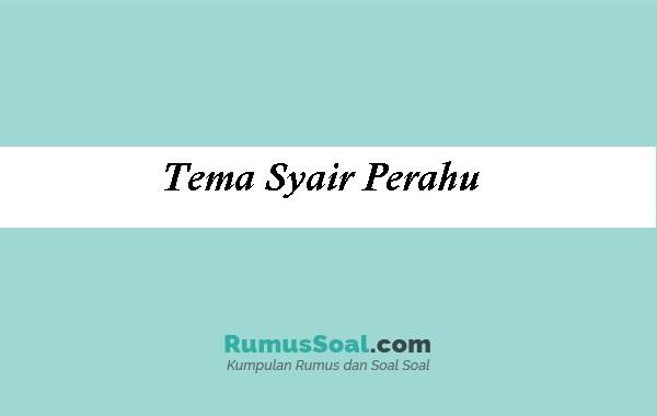 Tema-Syair-Perahu