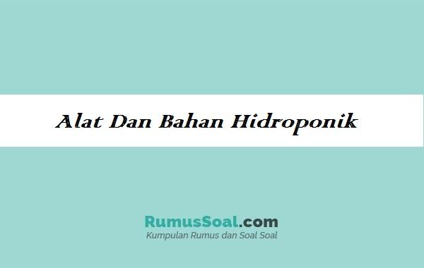 Alat-Dan-Bahan-Hidroponik
