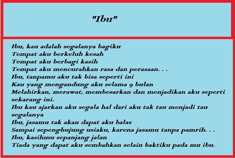 Puisi-ibu