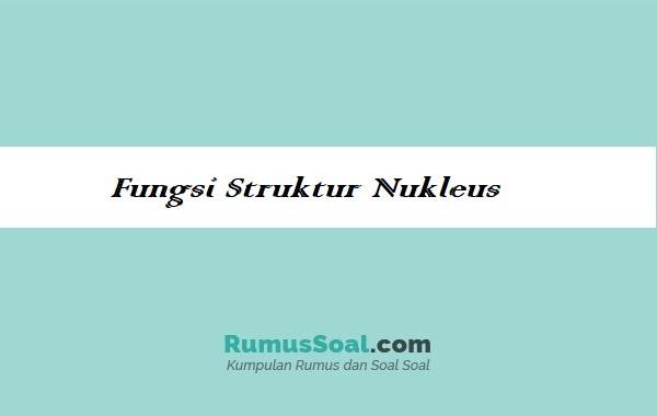 Fungsi-Struktur-Nukleus