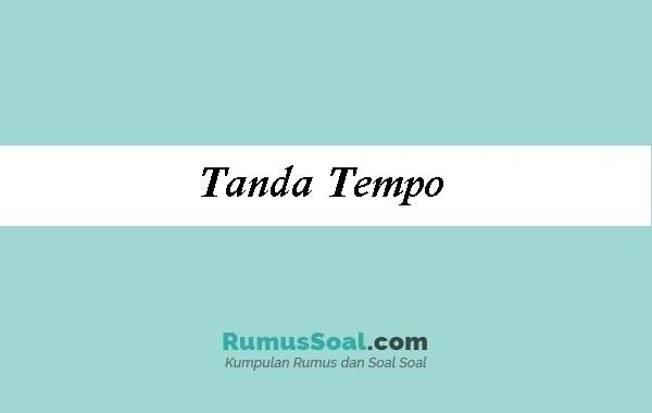 Tanda Tempo