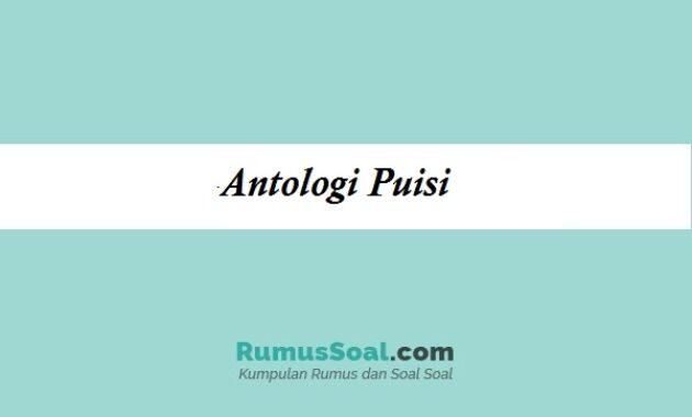 antologi puisi