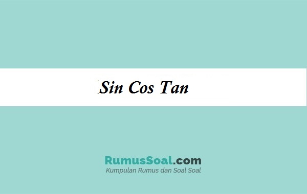 sincos tan