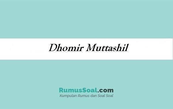 Dhomir Muttashil