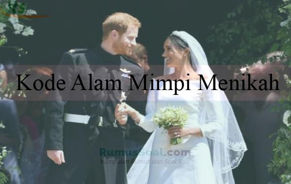 Arti mimpi mau menikah togel