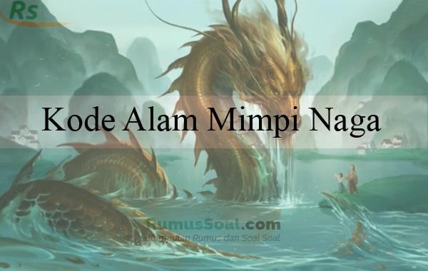 Kode Alam Mimpi Naga