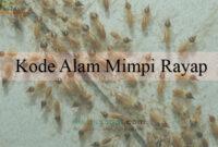 Kode Alam Mimpi Rayap