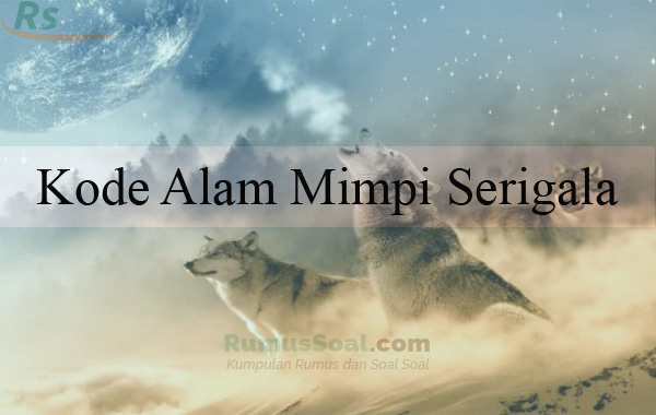 Kode Alam Mimpi Serigala