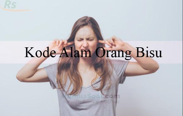 Kode Alam Orang Bisu