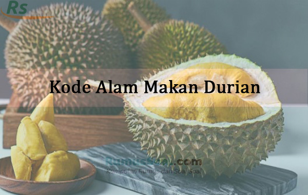 Kode Alam Makan Durian