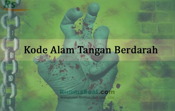 Kode Alam Tangan Berdarah