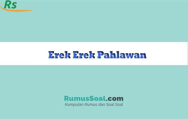 Erek Erek Pahlawan
